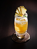 Rum and Pineapple Cocktail
