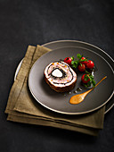 Lamb roulade stuffed by Chef Craquelard