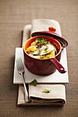 Potato casserole with reblochon cheese