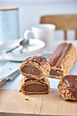Riesen-Schokoladen-Eclair