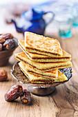 Bradj (Grießkuchen mit Dattelfüllung, Algerien)