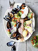 La gainée (Französisches Fischgericht)