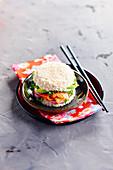 Sushi-style burger