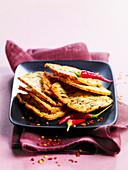 Chili-Paprika-Brotchips