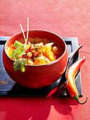 Chorba mit Kichererbsen (maghrebinische Küche)