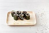 Maki-Sushi mit Quinoa