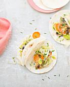 Vegetable tortillas