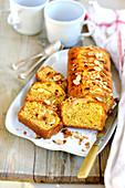 Glutenfreier Birnenkuchen mit Mandeln