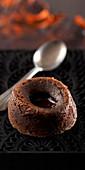 Coulant Au Chocolat (Schokoladenküchlein mit flüssigem Kern)