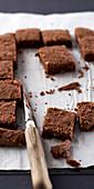 Salzig-süßes Schokoladen-Shortbread