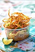 Thailändischer Nudelsalat mit Geflügel