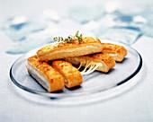 Käse-Brotstangen