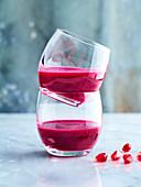 Granatapfel-Rote-Bete-Saft mit Petersilie