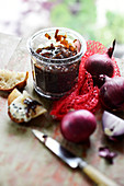 Onion and red wine jam