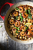 Shrimp and cashew casserole