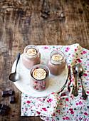 Selbstgemachte Schokoladencreme zum Muttertag