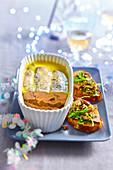Foie Gras Terrine mit Birnen (Weihnachten)