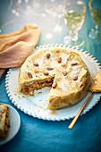 Perlhuhn-Pastilla mit Kastanien (Weihnachten)
