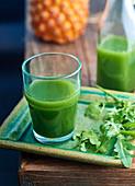 Grüner Detox-Saft