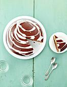 Zebra cake chocolate orange