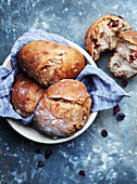 Small cranberry breads