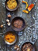 Peeling aus Trockenfrüchten