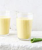 Mango-Lassi mit Aloe Vera