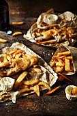 Fish and Chips mit Makrele
