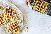 Waffles parmentières