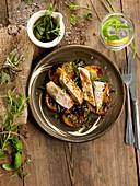 Turkey fillet with Herbes de Provence