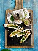 Salmon tartare Onigirazu