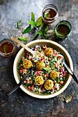 Lebanese falafel salad
