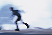 Inline Skating, Blurred Motion