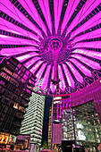 Sony Center at Potsdamer Platz, Berlin, Germany