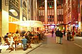 Restaurant in Hackeschen Hoefen, Berlin, Germany