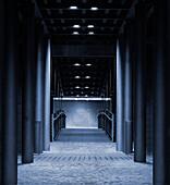 Blue Tunnel, Speicherstadt, Hamburg, Germany