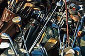 Old golf clubs, Florida, USA, America