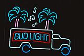 Miami, Luminous advertising, Florida USA