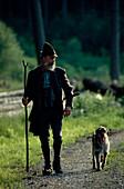 Foerster mit Hund
