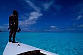 Bora Bora, Lagoon Franzoesisch Polynesien