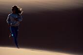 Jogging im Sand Marokko