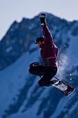 Snowboarding, Akrobatik Wintersport