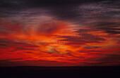 Sonnenuntergang Mari, Syrien