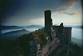 Ruin of Altdahn Castle, Palatine Forest, Rhineland-Palatinate, Germany