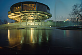 Congress center of CEBIT fair, Hanover, Lower Saxony, Germany