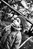 Junge mit Muetze