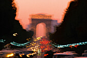 Champs Elysées, Paris Frankreich