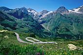 Landscape of Grossglockner Mtn., Hohe Tauern, Austria