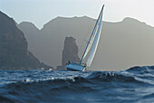 Ocean sailing in Sao Vincente, Cape Verde