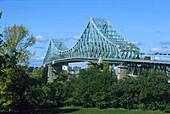Brücke Jaques-Cartier, Montreal Quebec, Kanada